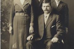 Adeline, John, Jack Maki and Laurie Huttenen