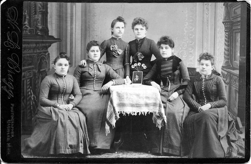 Ladies in Late 19th Century dress