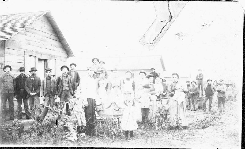 Families at an Early Housing Development