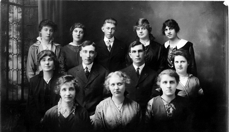 Work Staff at the New York Raquet Store