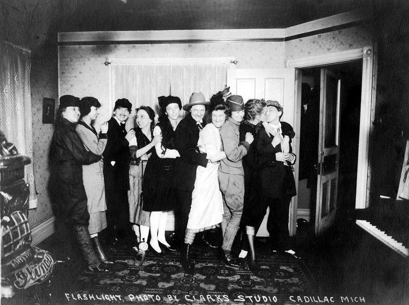Early 1920s Group Having Fun