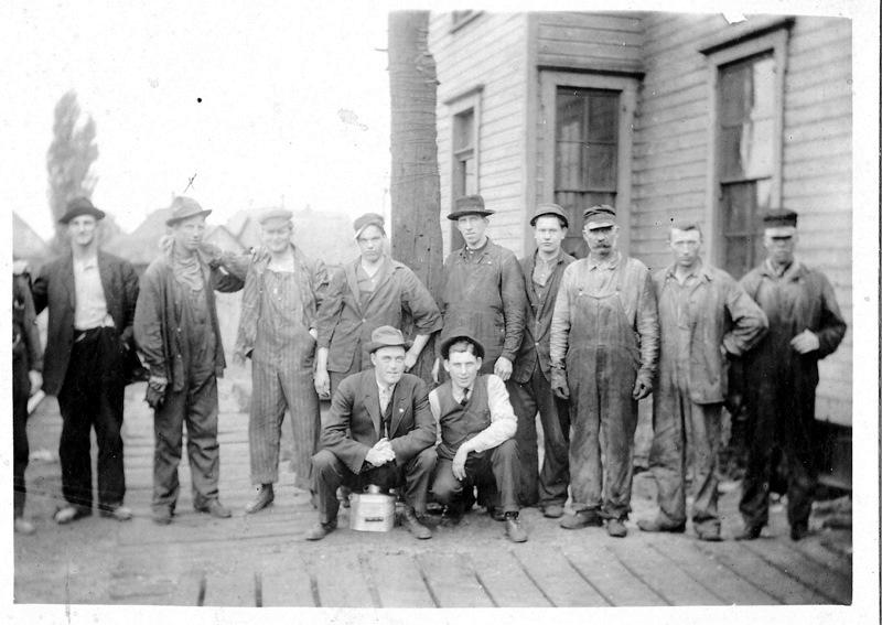 Penn Railroad Yard Crew