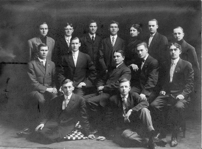 Thirteen Men and A Woman
