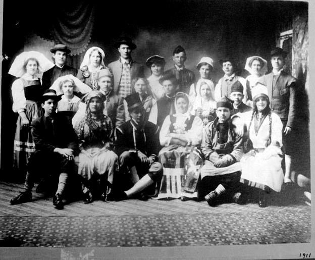 Scandinavian-Americans at the Gotha Hall