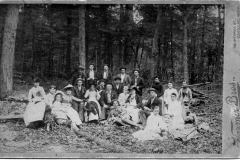 Group Poses in the Forest