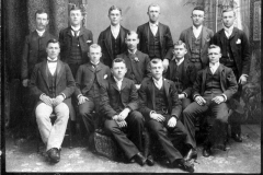 Group of Young Cadillac Men