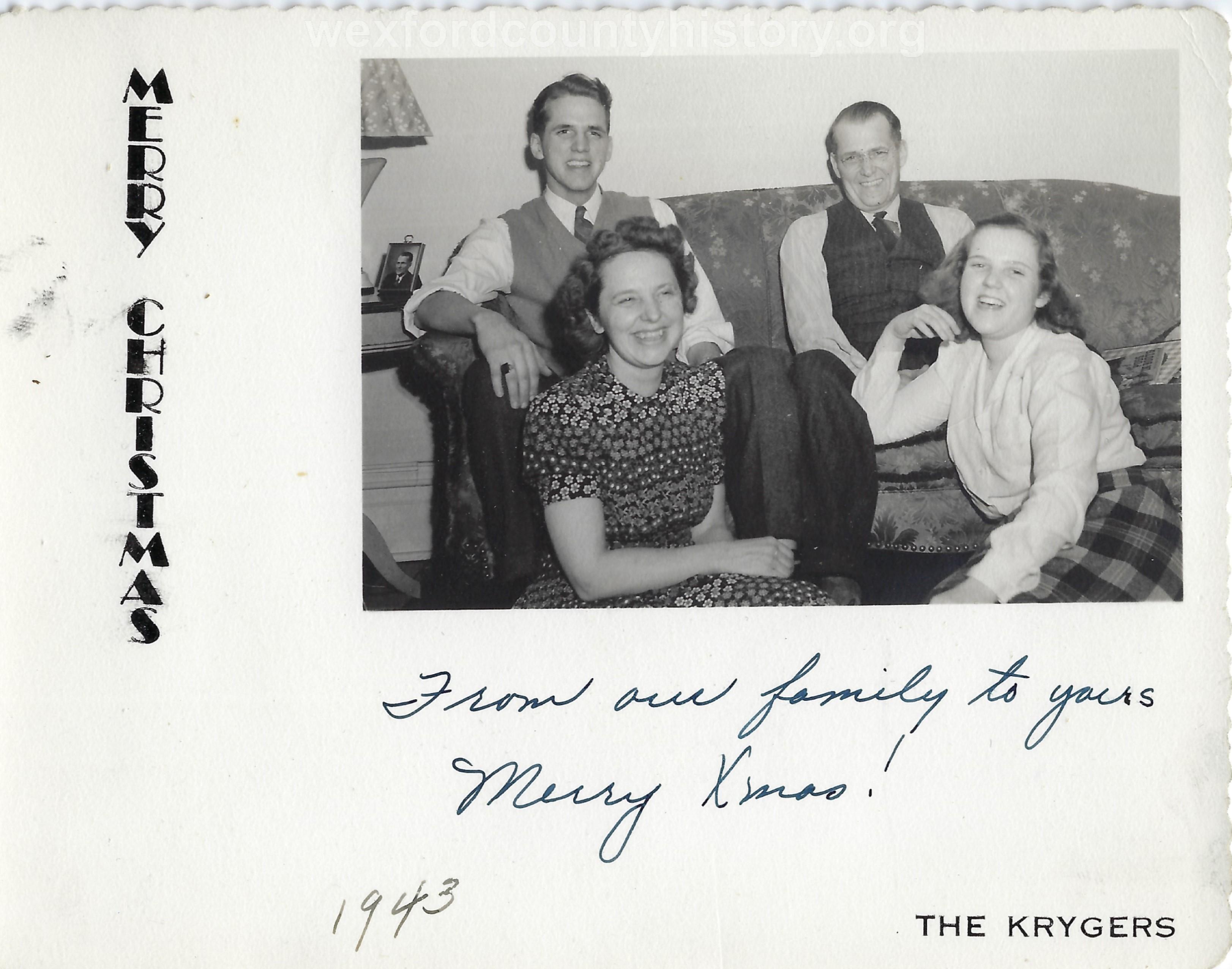 Kryger Family