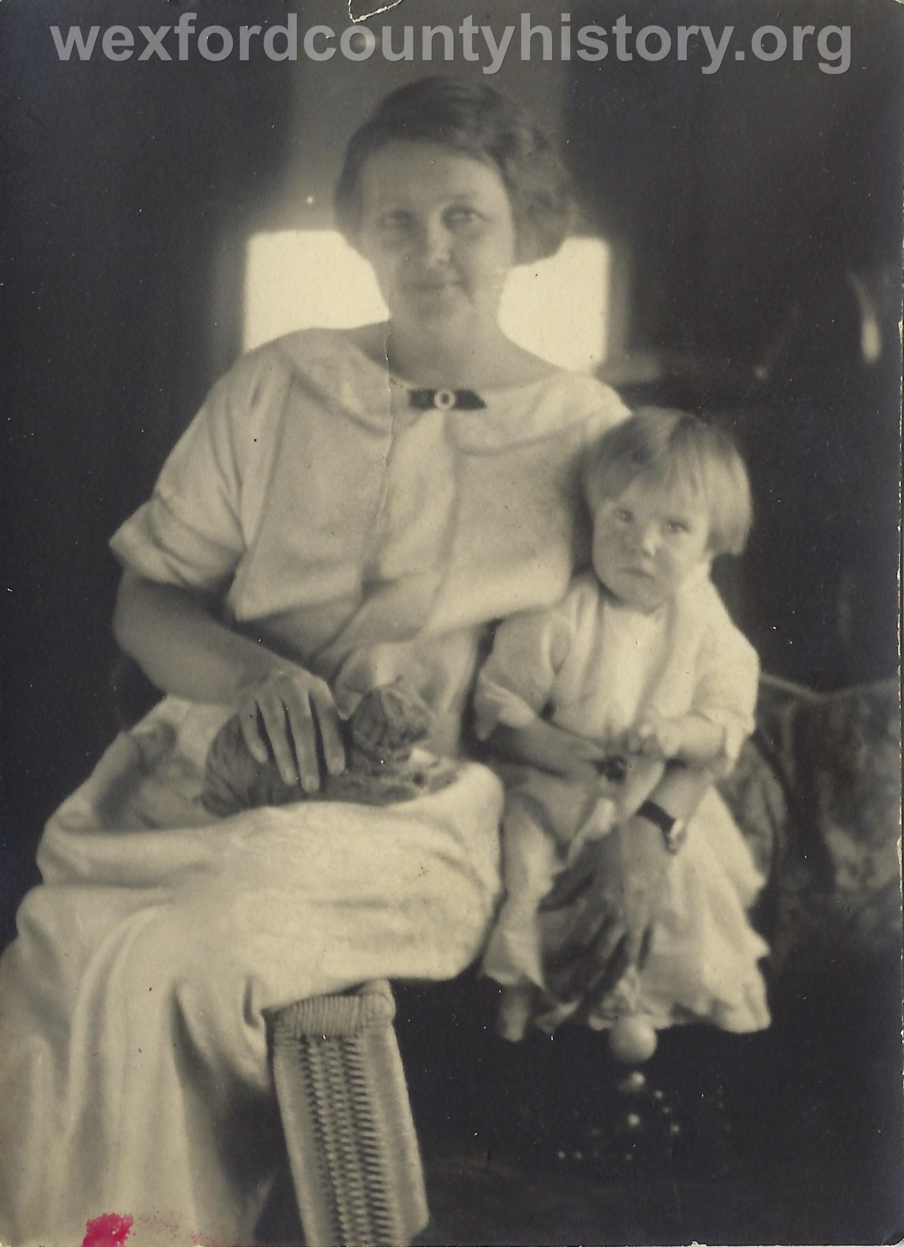 Mrs. Mc Avoy and Barbara