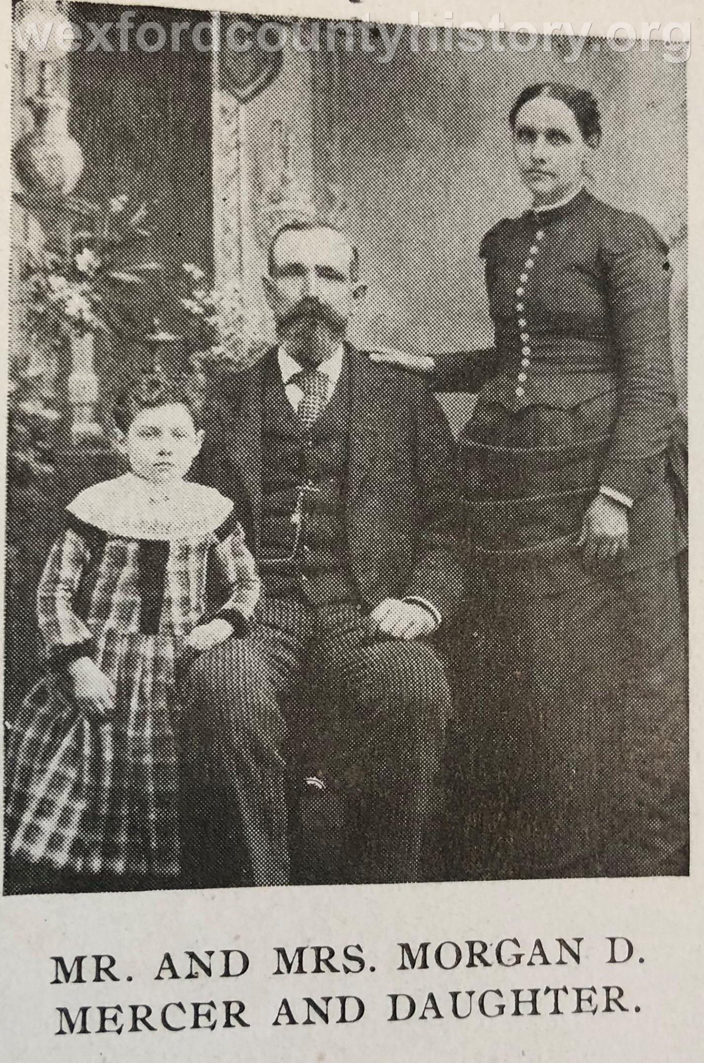Morgan D. Mercer Family