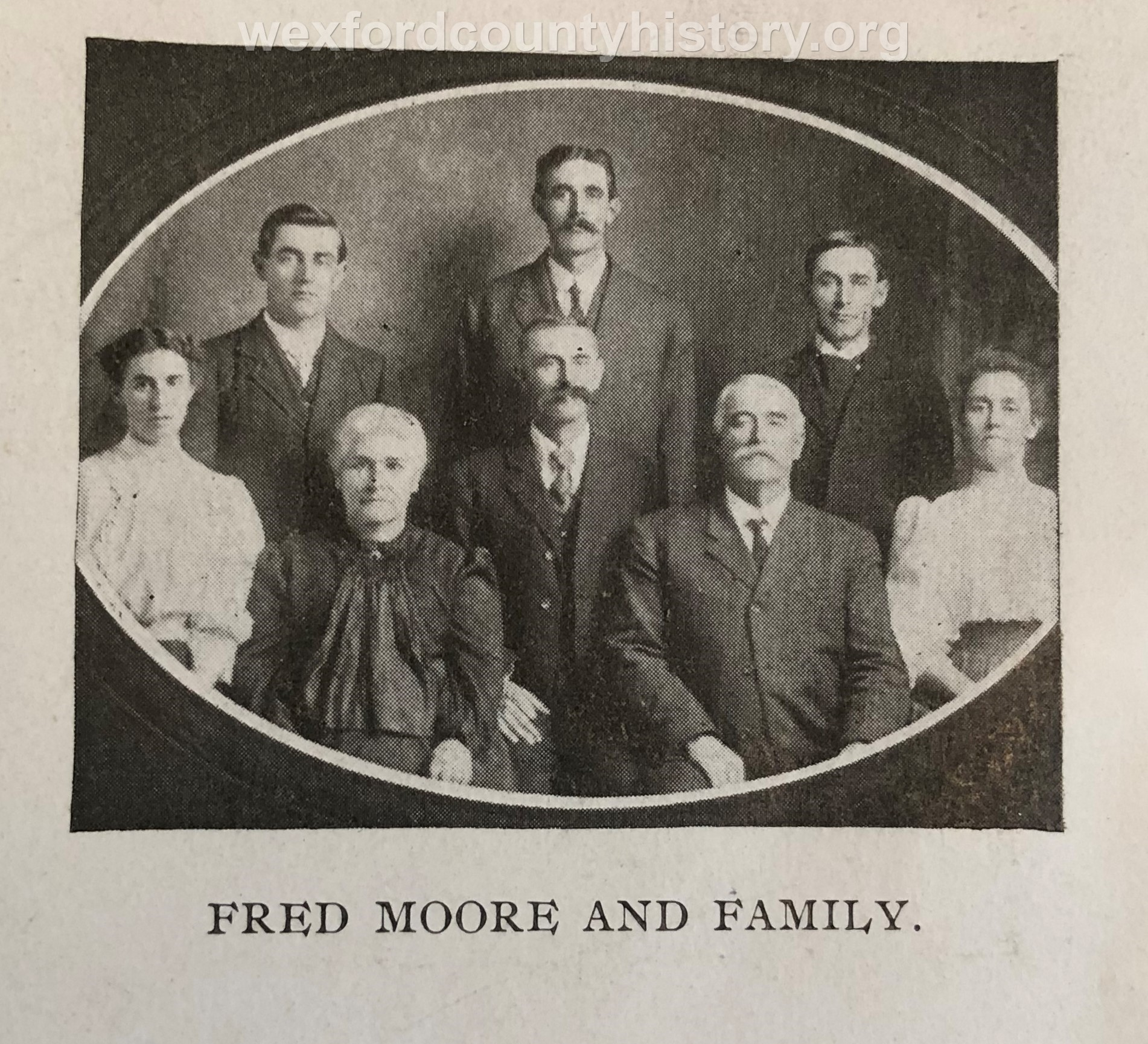 Fred Moore Family