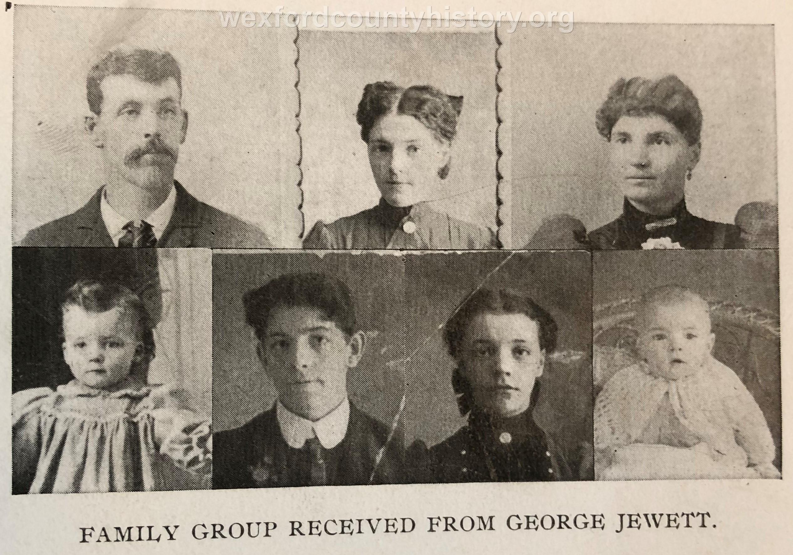 George Jewett Family