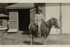 Catherine Mitchell On Horseback