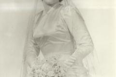 Catherine Mitchell In Wedding Attire