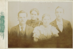 Person Family in 1898