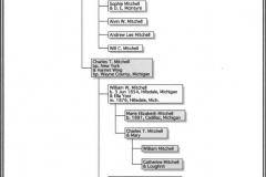 Mitchell Family Chart