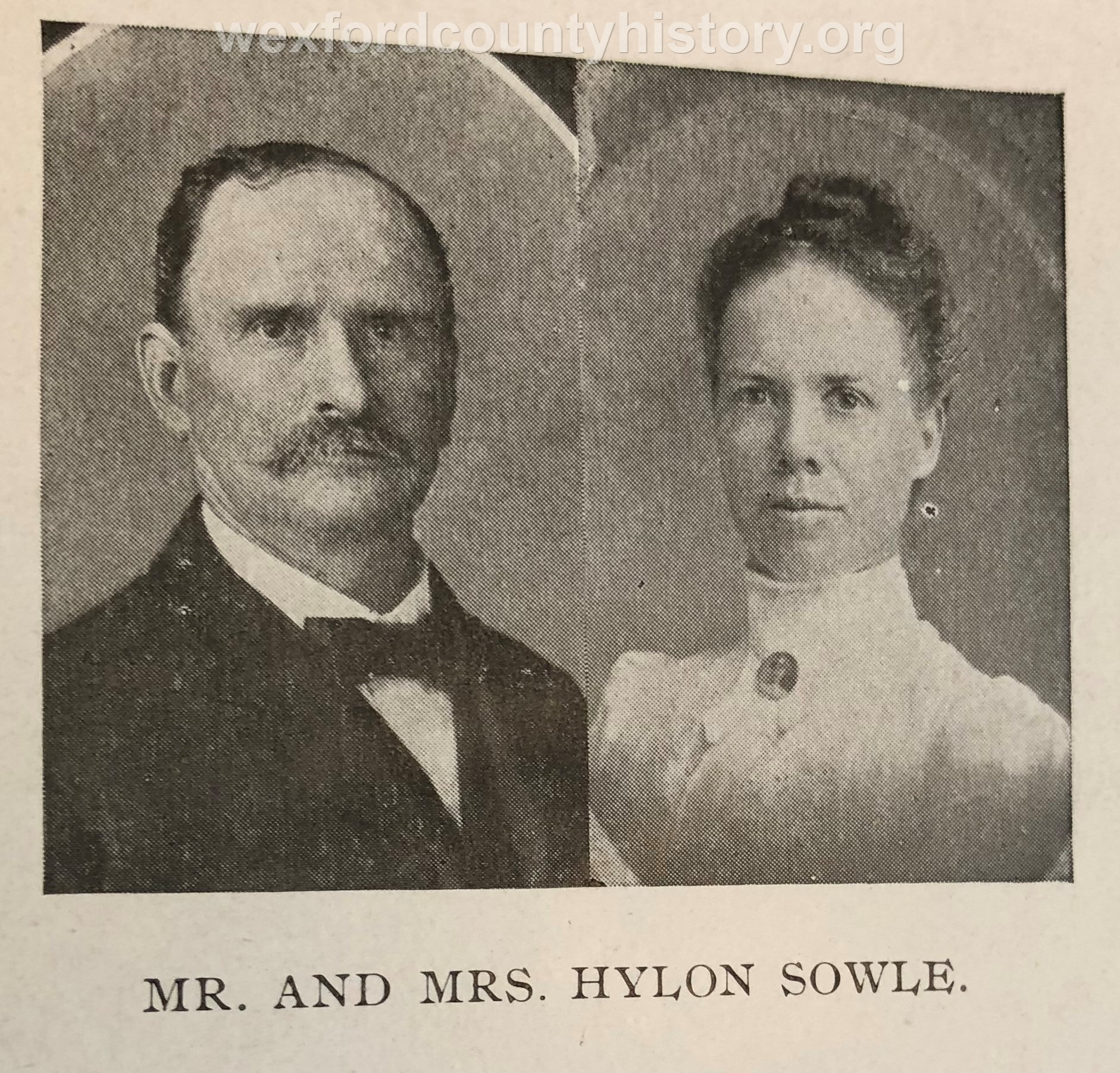Mr. And Mrs. Hylon Sowle