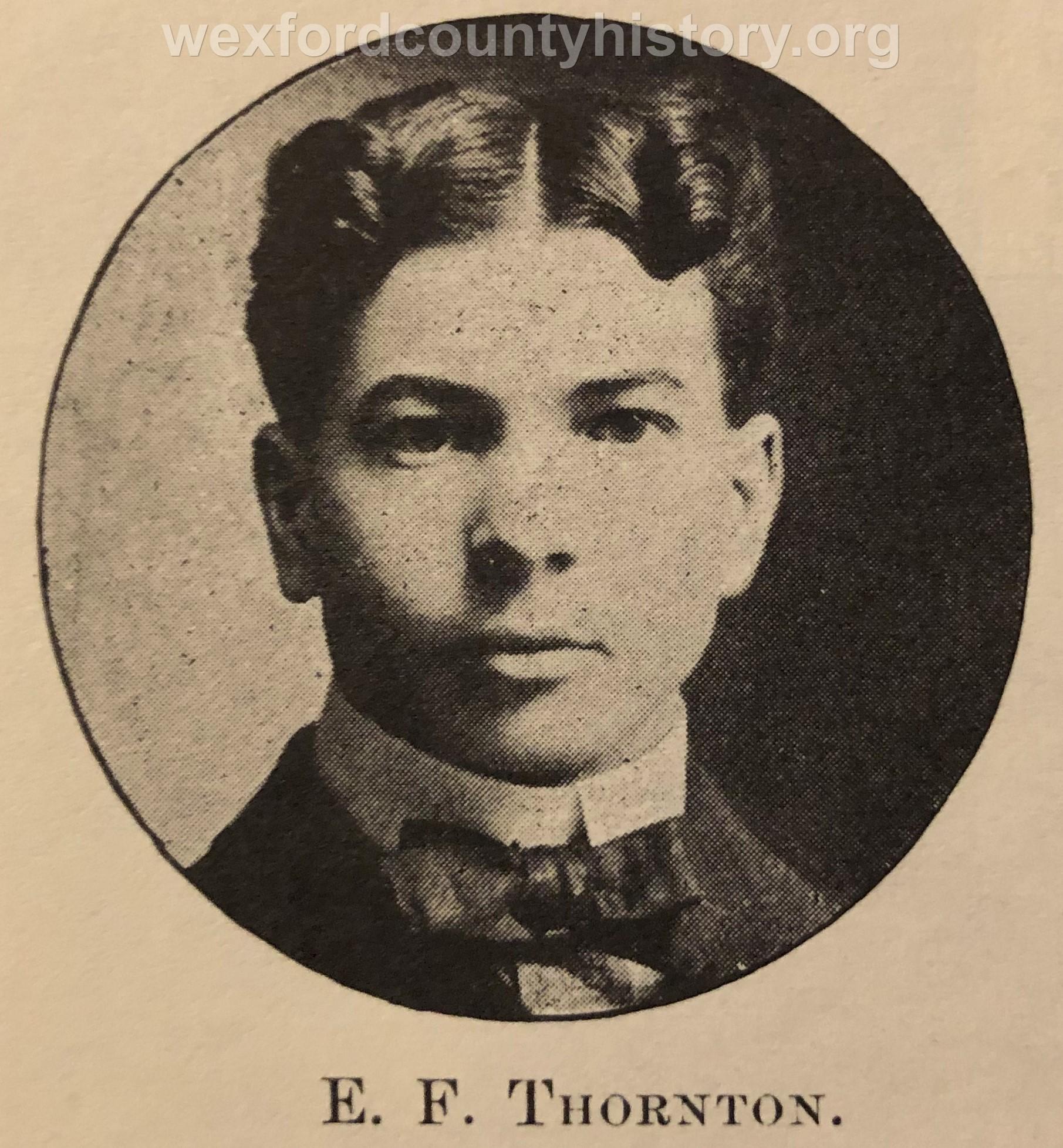 E. F. Thornton