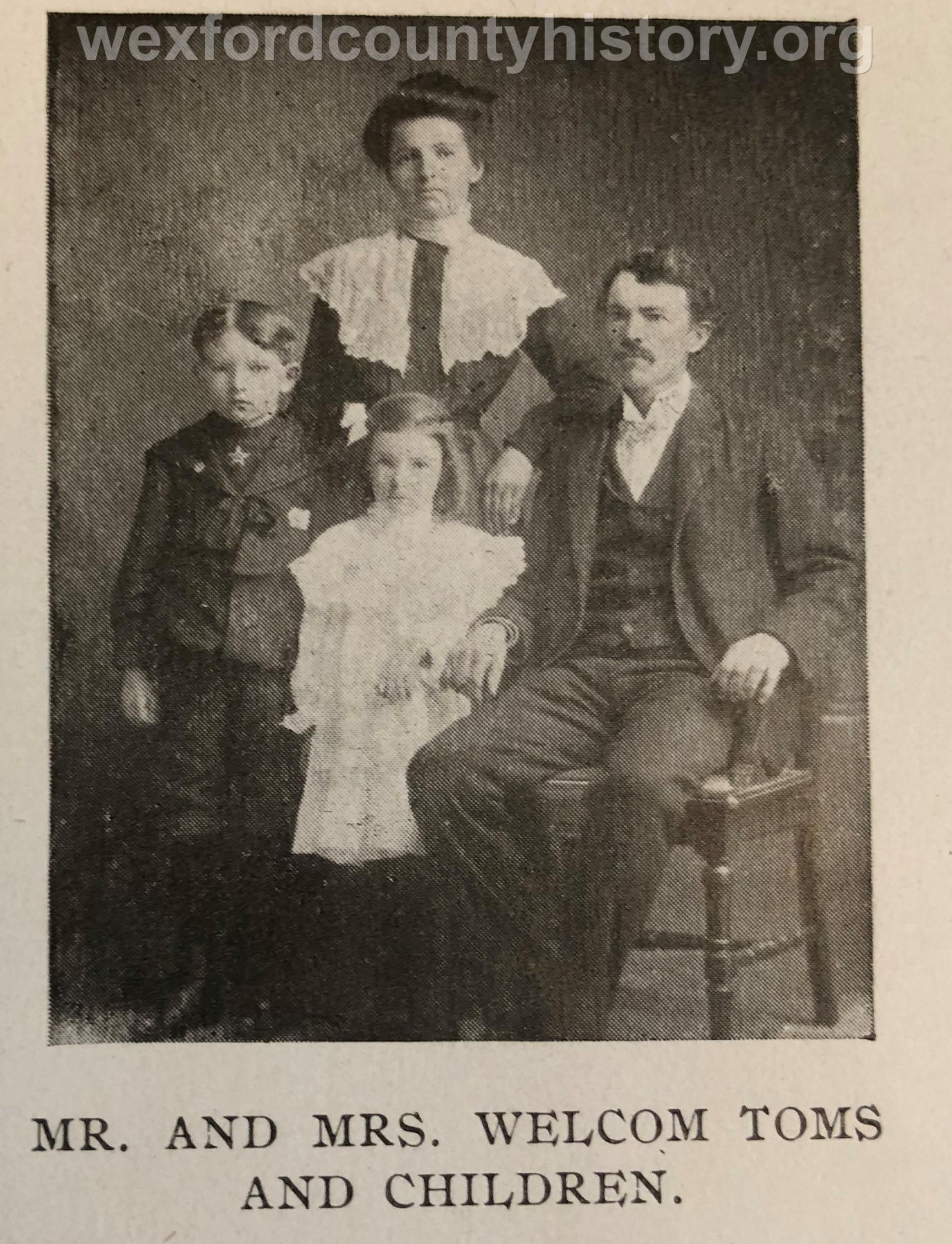 Tom Welcom Family
