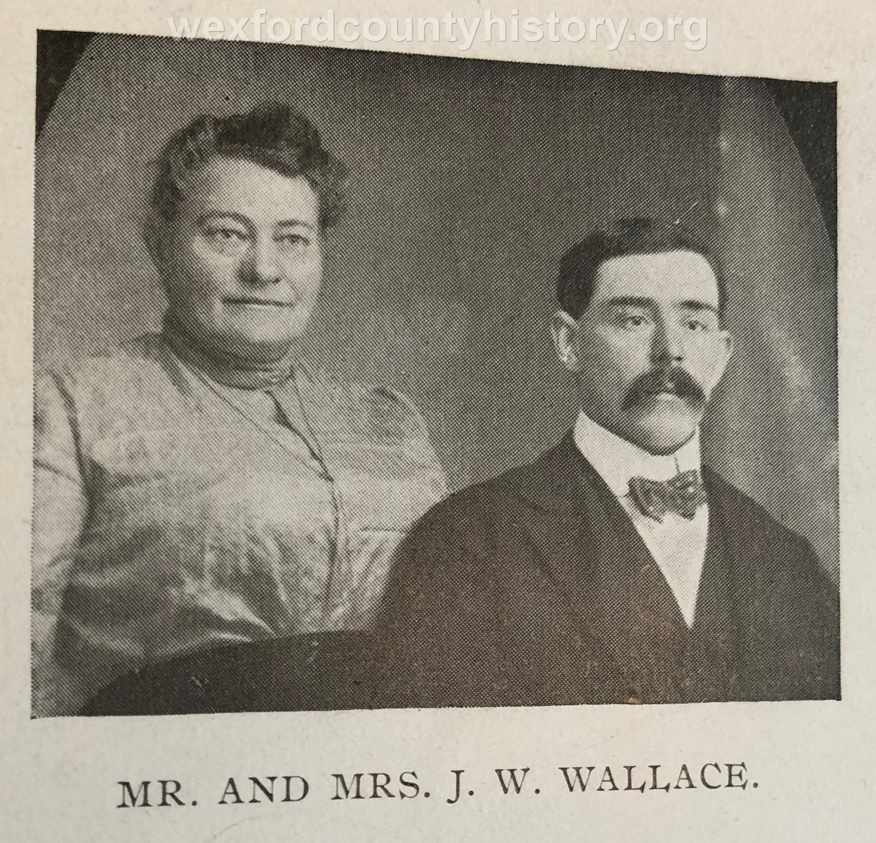 Mr. And Mrs. J. W. Wallace