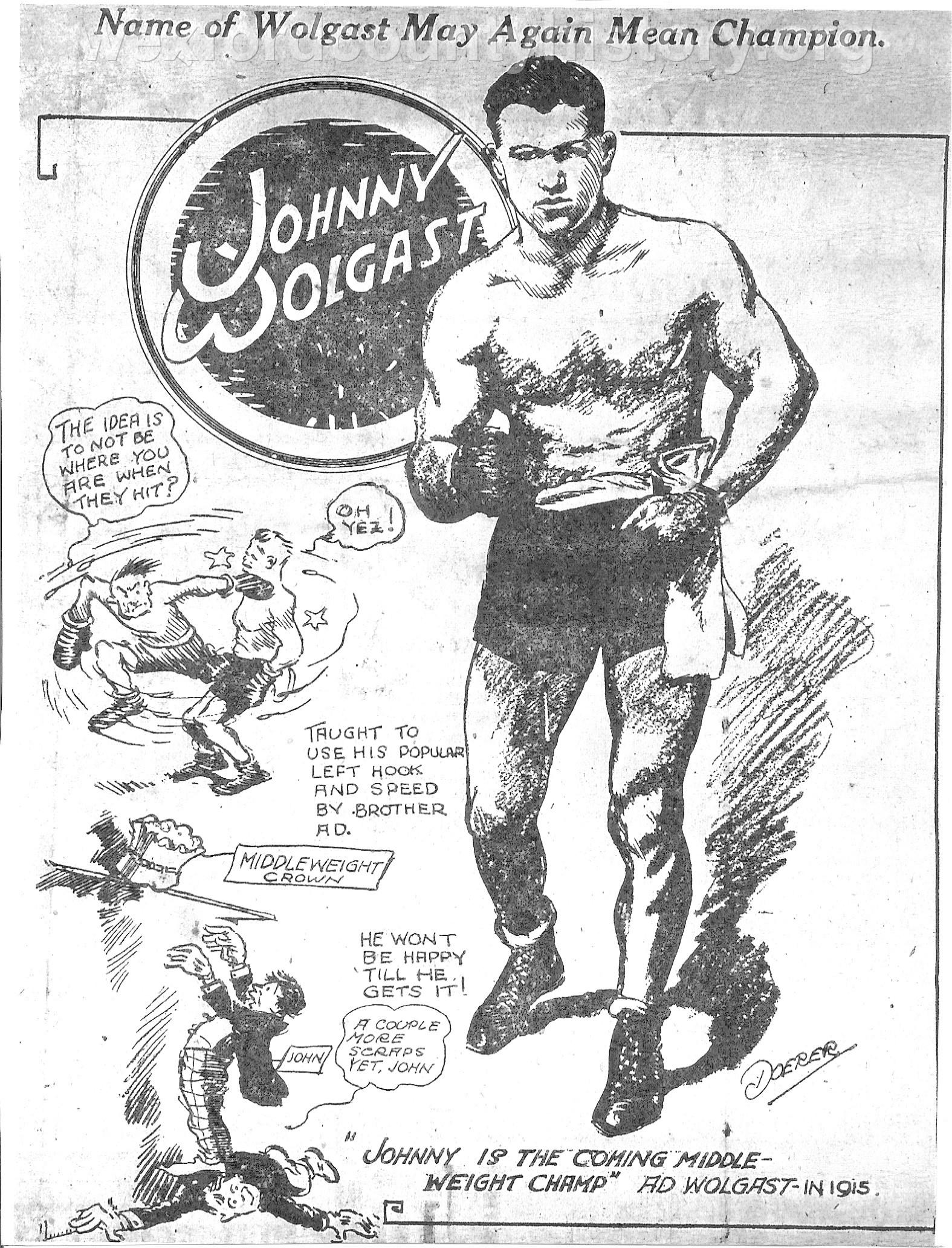 Johnny Wolgast, Cadillac Fighter