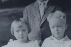 Barbara, Frederick, and George Rock