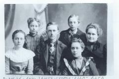 Blanche, Ann, James, George, Ella, and Alta Rock