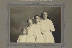 Caroline, Frederica, Maria, and Margaret Rock