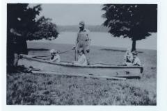 Lee, Barbara, George, Frederick Rock and Vida and Gordon Lemon in 1930