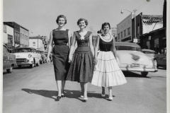 Three Ladies In The Middle Of South Mitchell Street