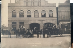Cadillac Fire Department, 1910