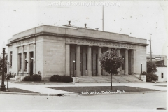 U. S. Post Office In Cadillac
