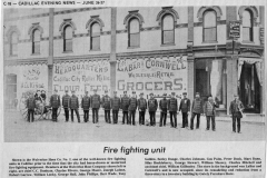 Wolverine Hose Company Number Two Firefighters