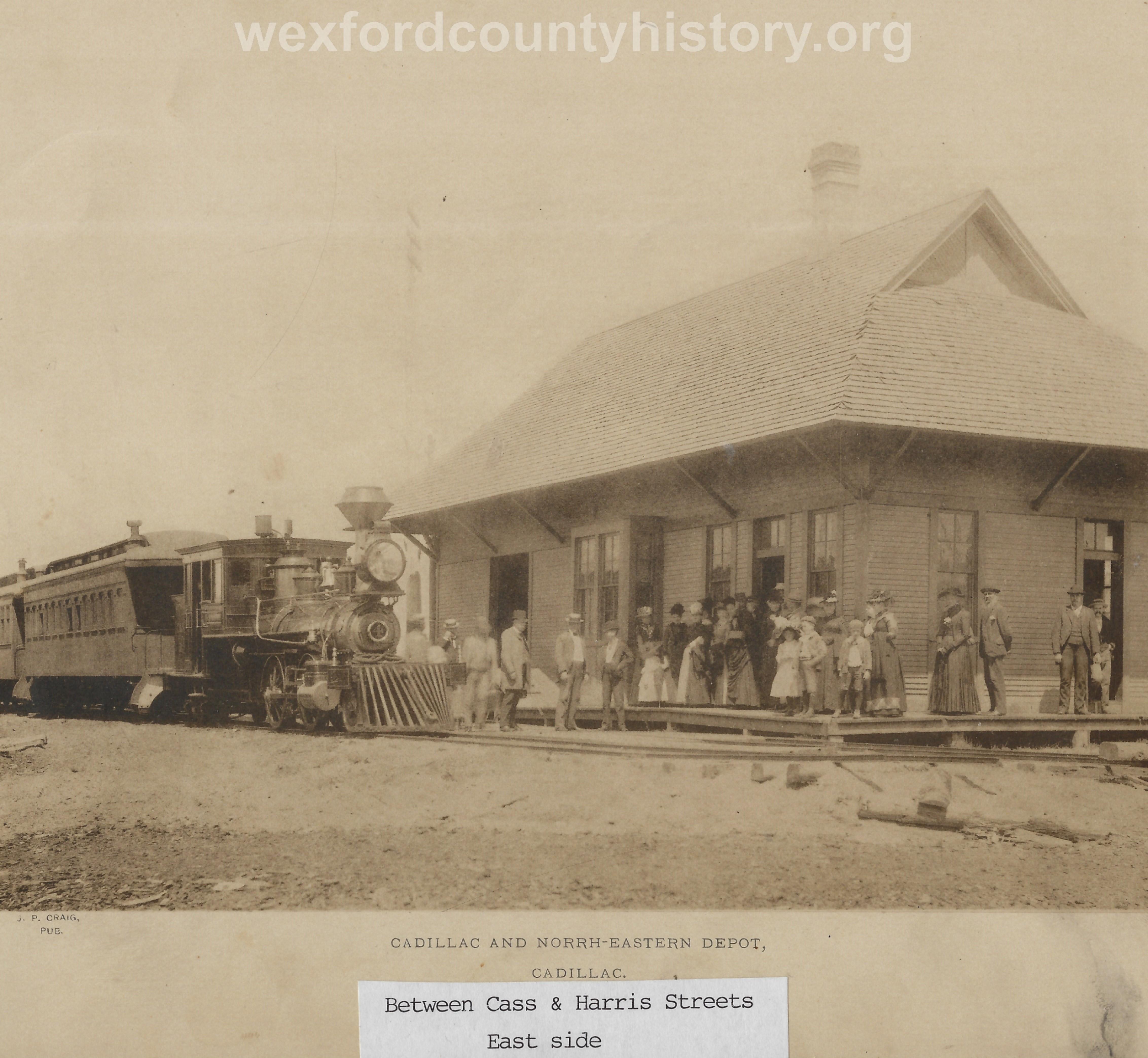 Cadillac-Railroad-Cadillac-And-Northeastern-Depot