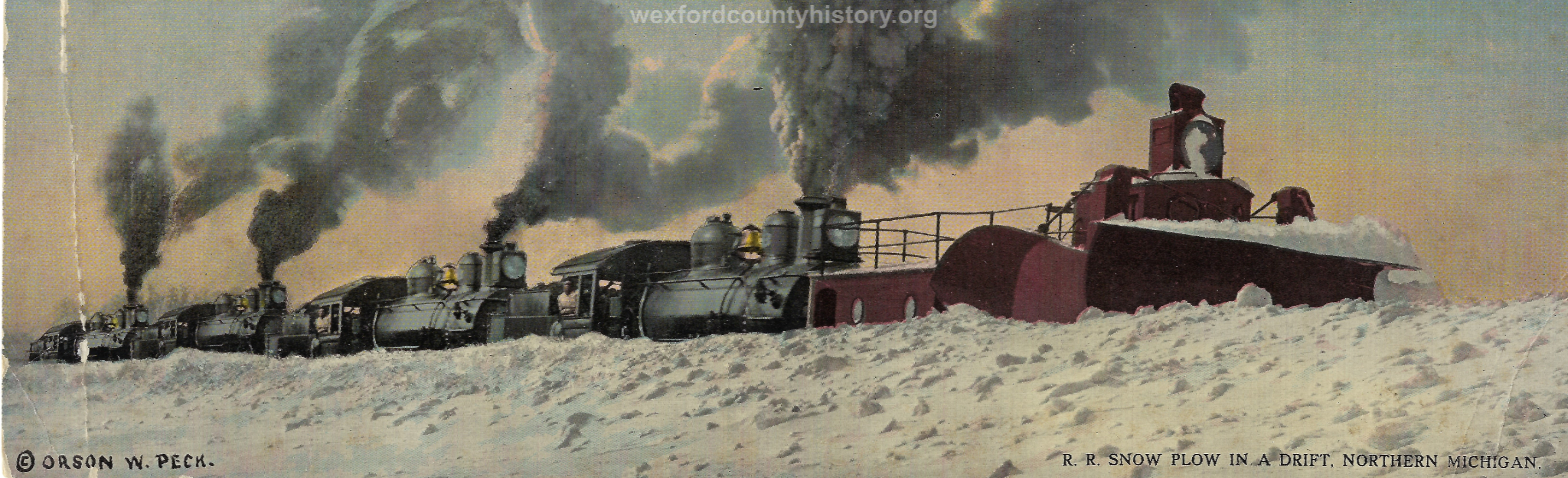 Cadillac-Railroad-Clearing-Tracks-During-The-Winter