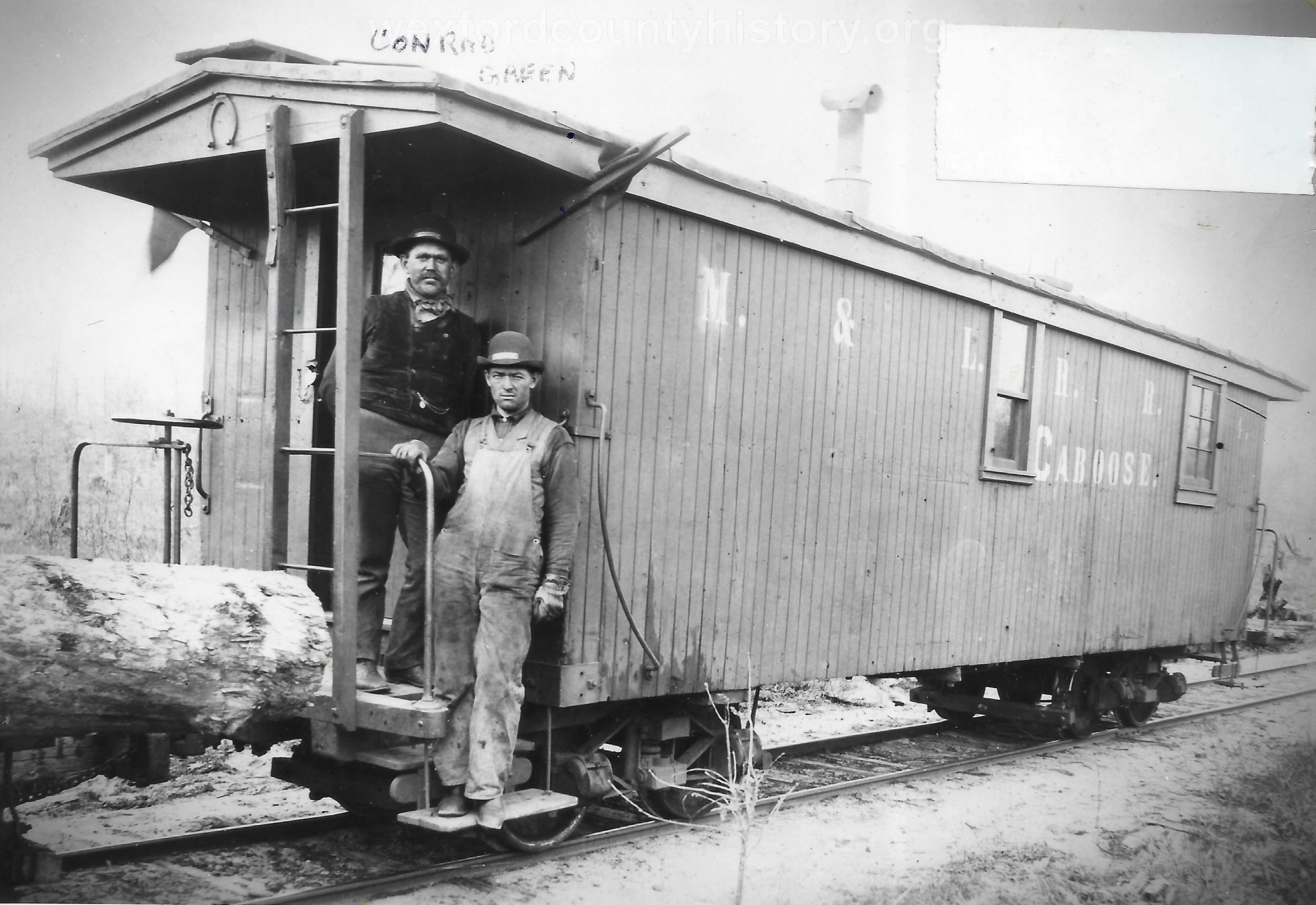 Cadillac-Railroad-Manistee-And-Luther-Railroad-Car