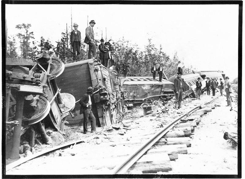 Ann Arbor Railroad Crash, 1902