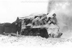 Cadillac-Railroad-Engine-In-Winter