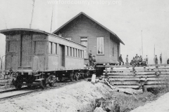 Cadillac-Railroad-Moving-A-Building-By-Rail