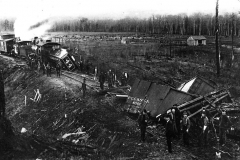 Ann Arbor Railroad Train Wreck, 1899