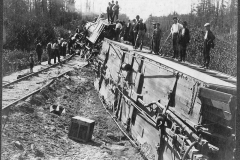 Ann Arbor Railroad Train Wreck, 1902
