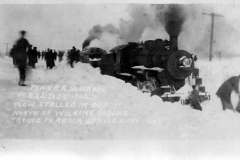 Snowbound Trains