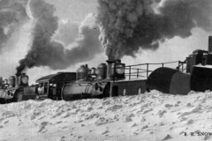 Snow Removal from the Railroad Tracks