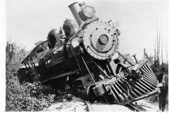 Train Wreck in 1902