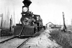 Grand Rapids & Indiana Railroad Train in 1880