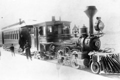 Cadillac and Northeastern Railroad Train