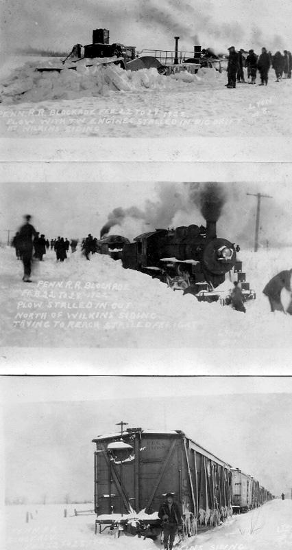 Snowbound Trains