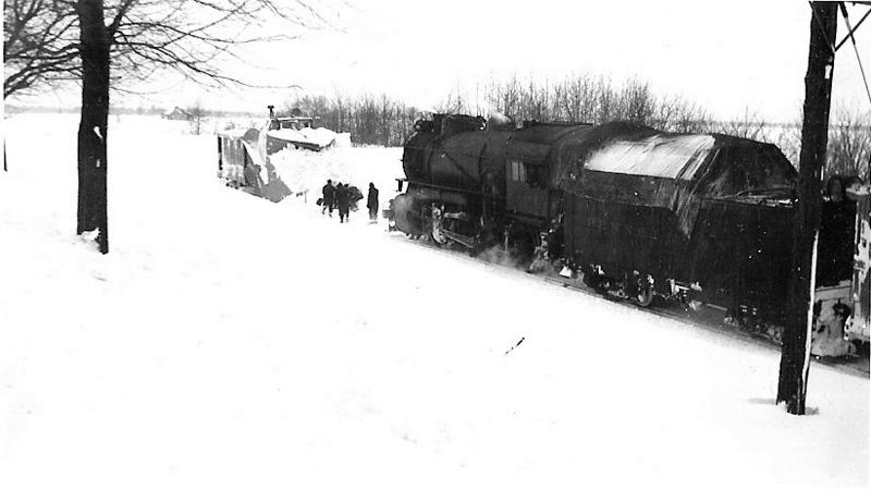 Train Snowplow