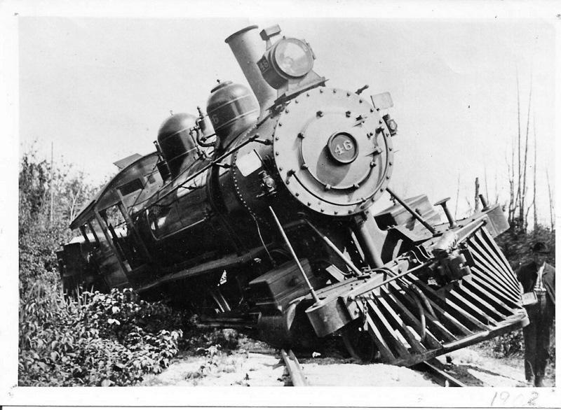 Train Wreck in 1902