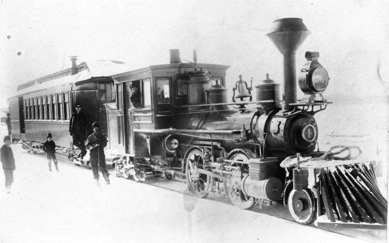Cadillac and Northeastern Railroad Train