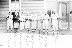Early 1900s Cadillac Baseball Team